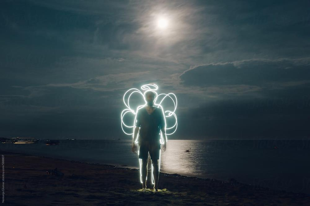 آبستره در استفاده از تکنیک عکاسی با نور